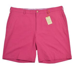 NEW Peter Millar Mens Shorts Sz 40 Pink Radish